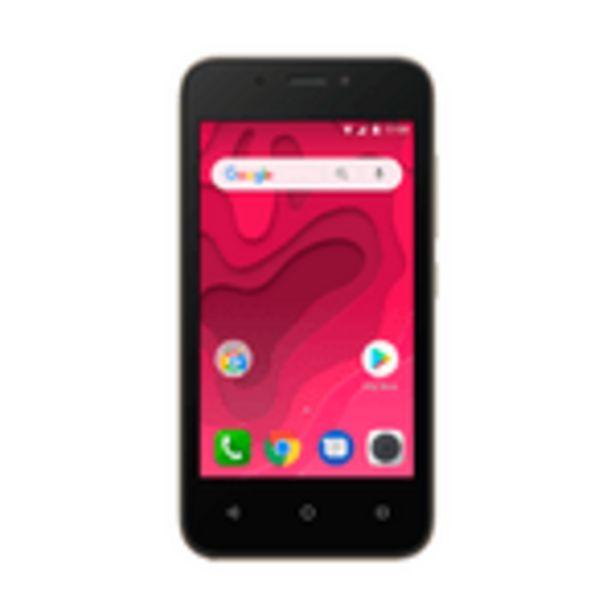 Oferta de Smartphone Positivo Twist Mini 3 S431B 16GB Câmera 5MP Dourado por R$399