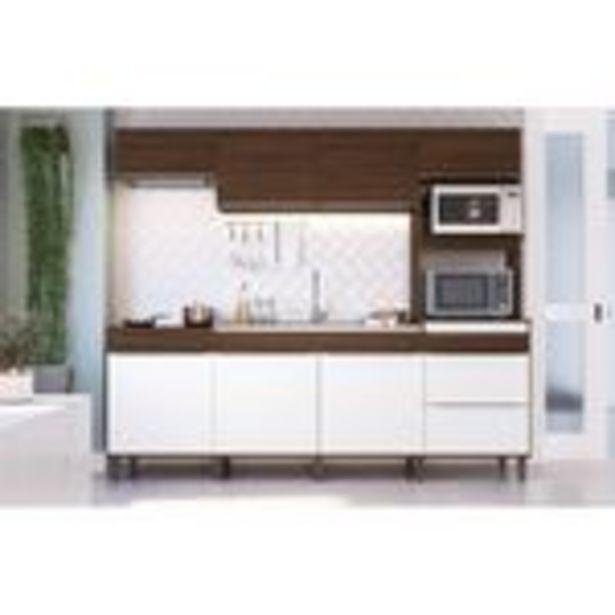 Oferta de Cozinha Decibal CS673P c/ Pé Cacau/Nature por R$1199,9