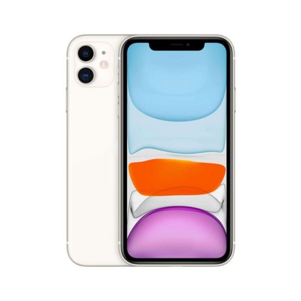 Oferta de IPhone 11 Apple 64GB Câmera Dupla iOS Branco por R$5999