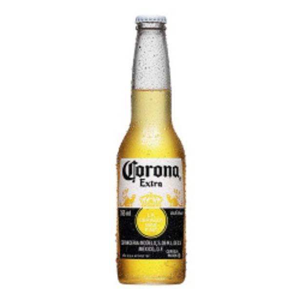 Oferta de Cerveja Corona Extra Ln 330ml por R$6,09
