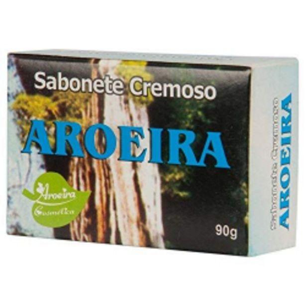 Oferta de Sabonete Aroeira Cosmetica 90g Cremoso por R$2,45
