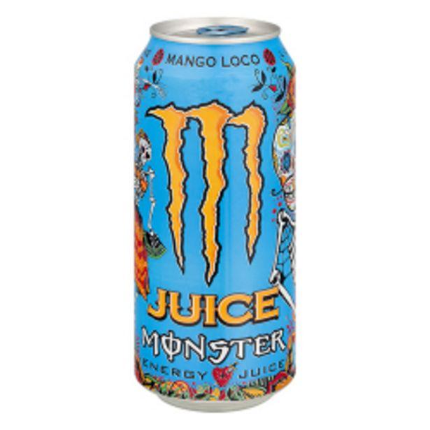 Oferta de Energético Monster Mango Lata 473ml por R$7,25