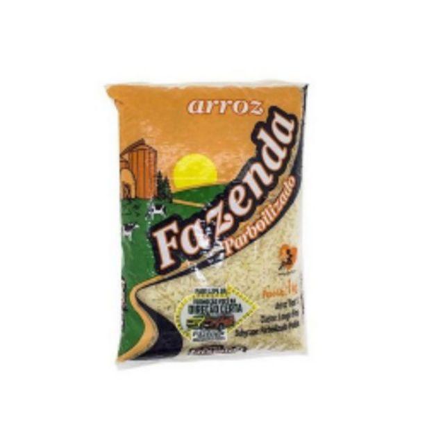 Oferta de Arroz Parbolizado Fazenda 1kg por R$4,29