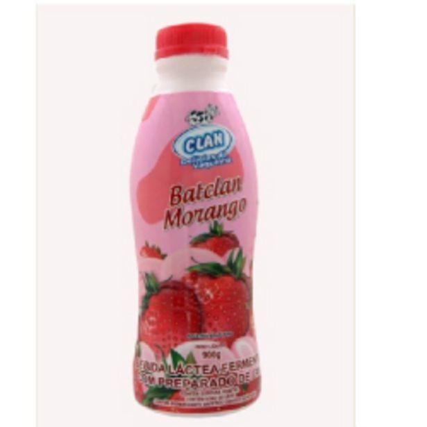 Oferta de Bebida Láctea Batclan 900g Morango por R$7,59