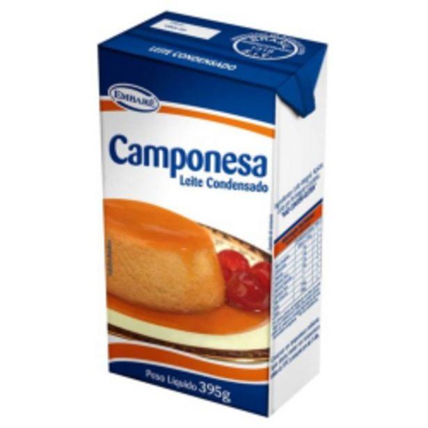 Oferta de Leite Condensado Camponesa 395g por R$5,09