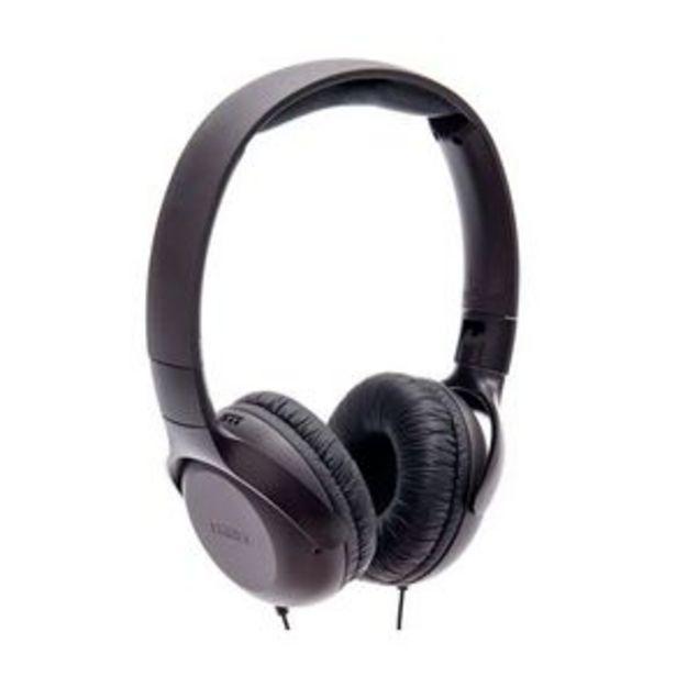 Oferta de Headphone Philips UH201BK com Microfone por R$109