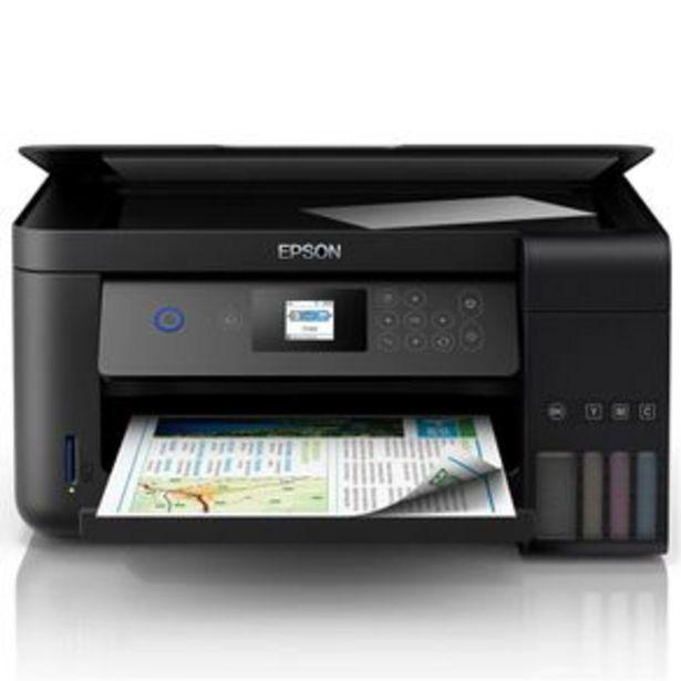 Oferta de Impressora Multifuncional Tanque de Tinta Epson EcoTank L4160 Wireless por R$1799