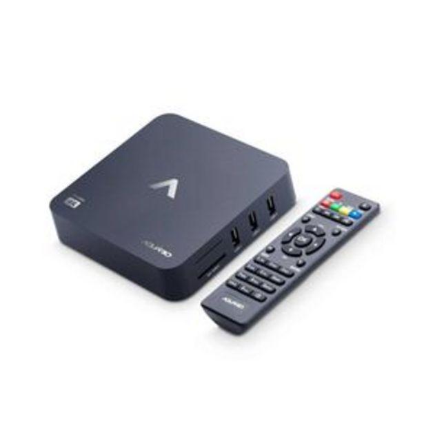 Oferta de Smart TV Box Aquário STV-2000, 4K UltraHD, Android 7.12 por R$299