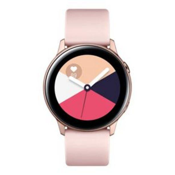 Oferta de Smartwatch Samsung Galaxy Watch Active 40mm por R$1099