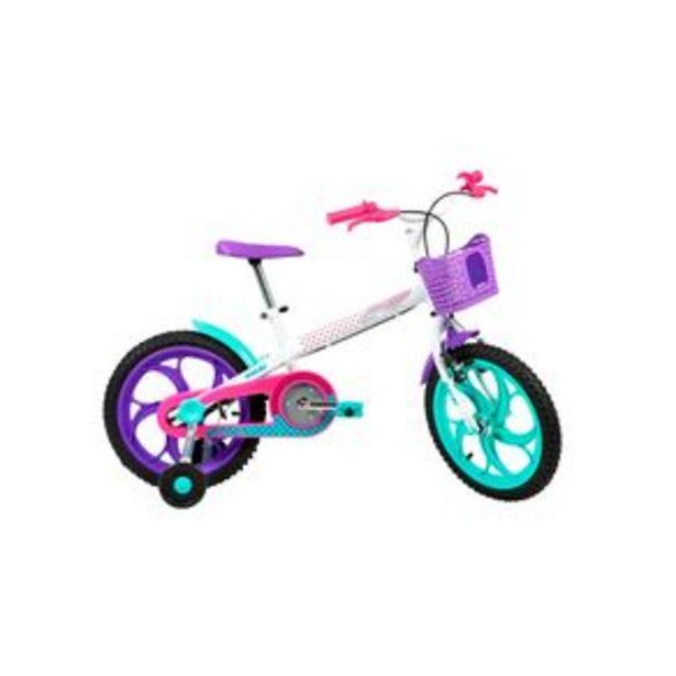 Oferta de Bicicleta Infantil Caloi Aro 16 Ceci por R$899