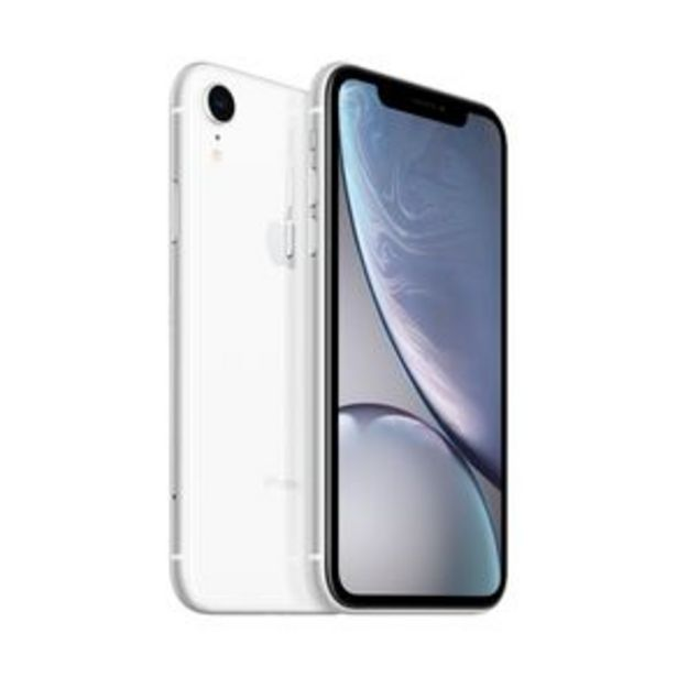 Oferta de IPhone XR Branco Tela de 6,1, 4G, 128 GB e Câmera de 12 MP por R$5999