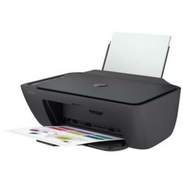 Oferta de Impressora Multifuncional HP Deskjet 2774 Ink Advantage Jato de Tinta Colorida Wi-Fi USB por R$489