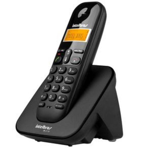 Oferta de Telefone sem fio Intelbras TS3110 - Preto por R$149,9