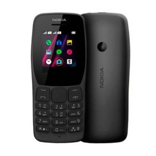 Oferta de Celular Nokia NK006 Dual Sim 32MB Rádio Fm Câmera VGA por R$179