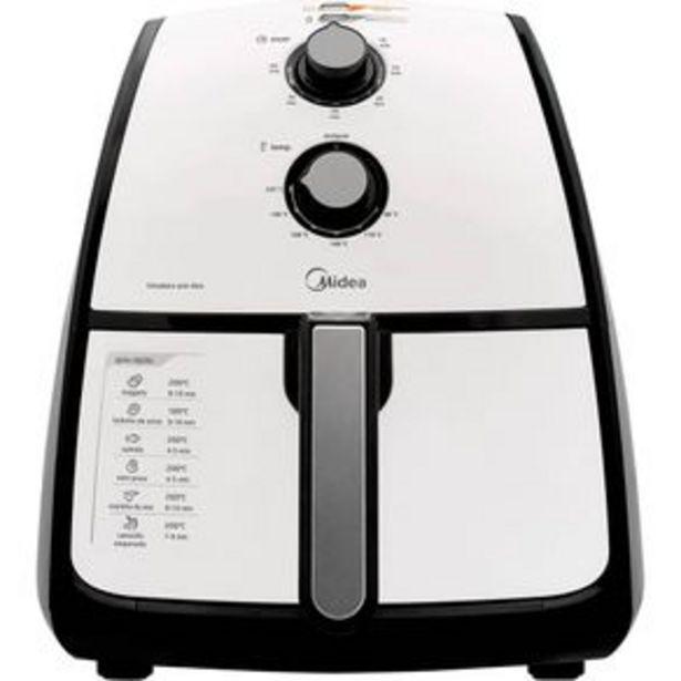 Oferta de Fritadeira Elétrica sem óleo Midea FRA41 Liva, 4 Litros, 127V, 1500W por R$599