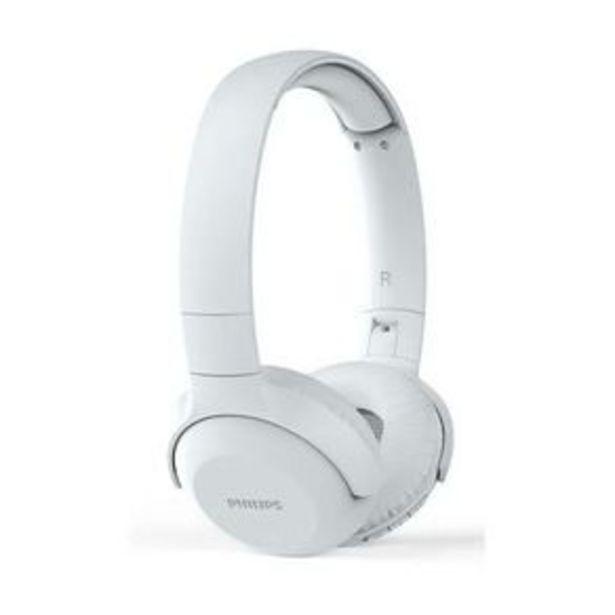 Oferta de Headphone Philips UH202WT Bluetooth On-Ear Com Microfone por R$229