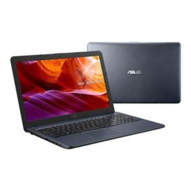 """Oferta de Notebook Asus VivoBook Tela de 15,6"""", Intel Celeron Dual Core, 4GB, 500GB, Windows 10 por R$2799"""