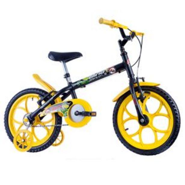 Oferta de Bicicleta Track Bikes aro 16 Dino - Preta por R$629