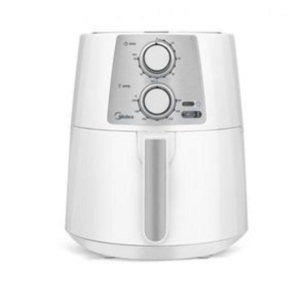 Oferta de Fritadeira Elétrica Air Fry Midea FRA31 sem Óleo 3.5L por R$499