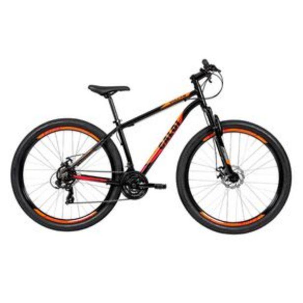 Oferta de Bicicleta Caloi Vulcan Aro 29 T1R29V21 com freio a disco, 21 velocidades por R$2199