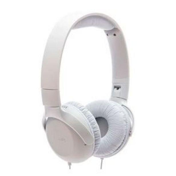 Oferta de Headphone Philips UH201WT com Microfone - Branco por R$109