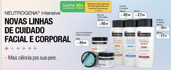 Oferta de Neutrogena Body Care 200 ml  por R$17,99