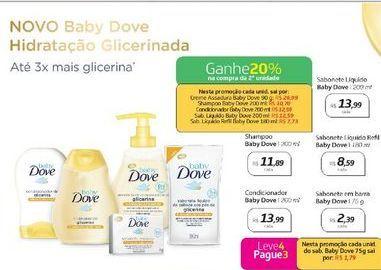 Oferta de Sabonete em barra Baby Dove 75 g  por R$2,39
