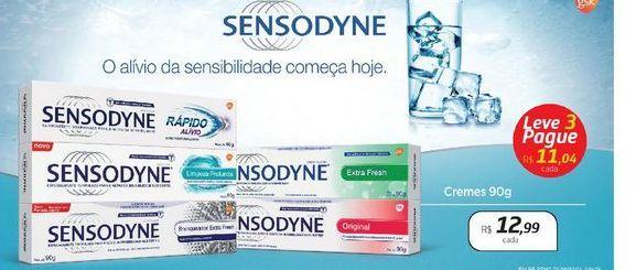 Oferta de Creme dental 90g Sensodyne por R$12,99