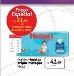 Oferta de Fraldas Huggies Triple Proteção por R$31,99