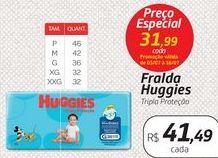 Oferta de Fralda Huggies Tripla Proteção por R$41,49