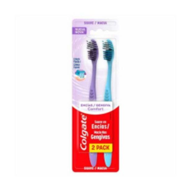 Oferta de Escova Dental Colgate Gengiva Confort Com 02 Unidades por R$24,69