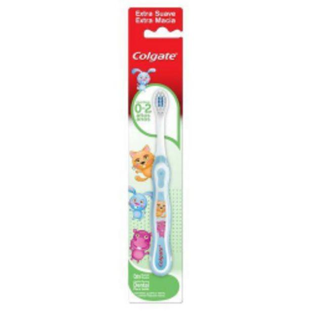 Oferta de Escova Dental Colgate Infantil Smiles 0-2 Anos Unidade por R$24,9