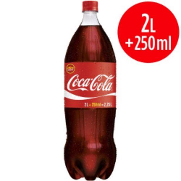 Oferta de Coca-cola 2l + 250ml Grátis por R$6,99