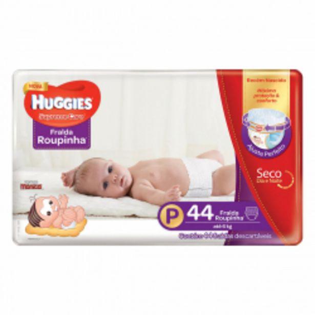 Oferta de Fralda Huggies Supreme Care Roup Mega P Com 44 Unidades por R$48,9