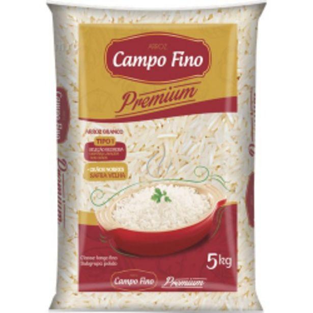 Oferta de Arroz Campo Fino Premium 5kg por R$21,49