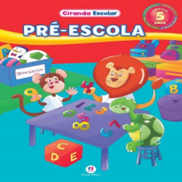 Oferta de Livro Ciranda Cultural Grampeado 48p Pre Escola por R$9,99