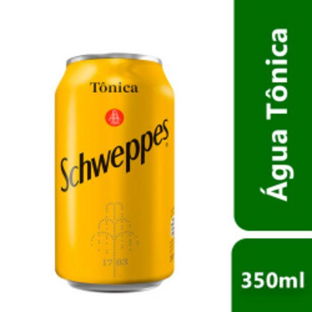 Oferta de Agua Tonica Schweppes Lata 350ml por R$3,09