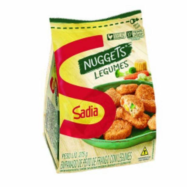 Oferta de Nuggets Sadia Peito De Frango Legumes 275g por R$12,79