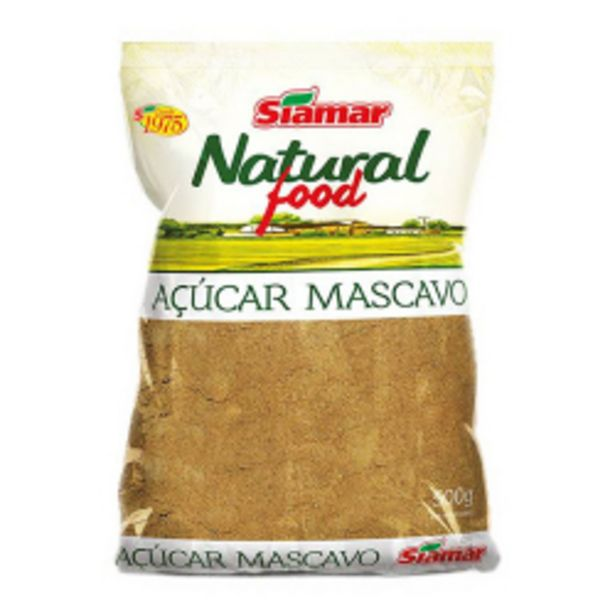 Oferta de Acucar Mascavo Siamar 500gr por R$8,29