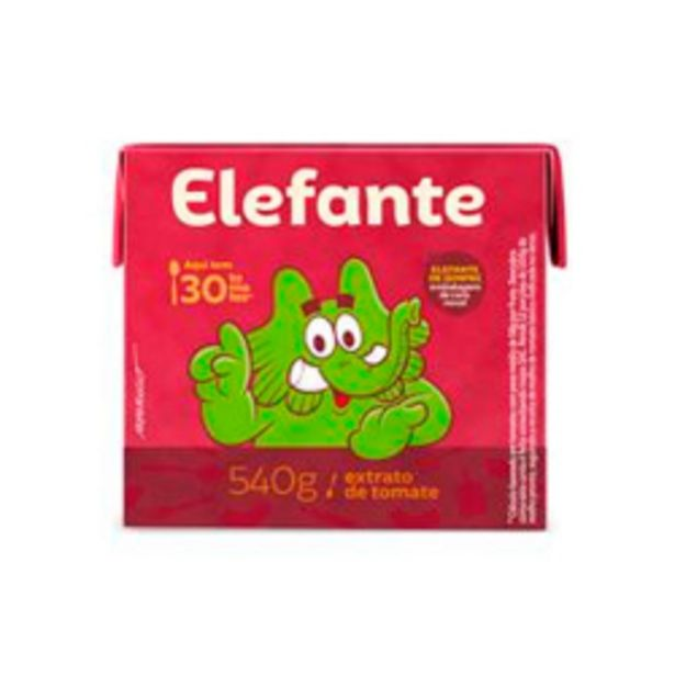 Oferta de Extrato Tomate Elefante 540g por R$8,49