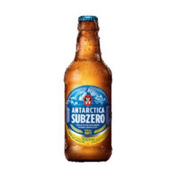 Oferta de Cerveja Antartica Subzero Retornavel 300ml por R$1,69