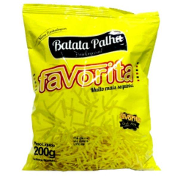 Oferta de Batata Palha Favorita 200gr por R$5,29
