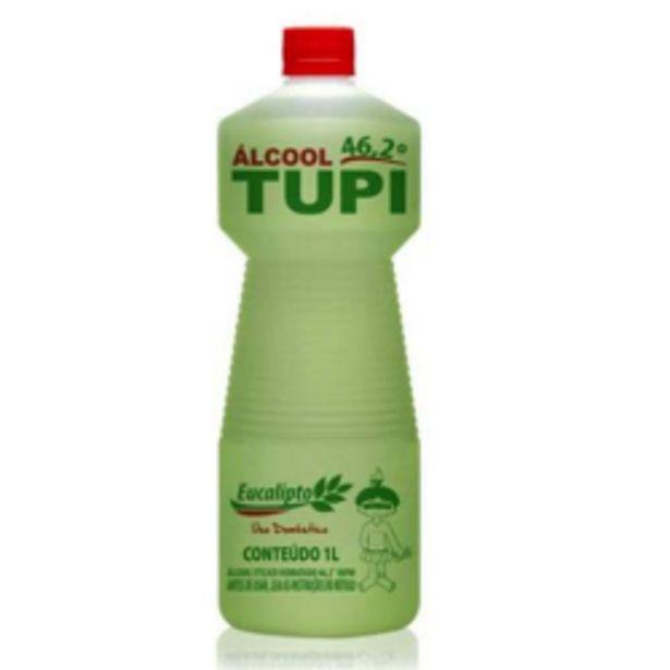 Oferta de Alcool Tupi 1l 46,2° Eucalipto por R$8,49