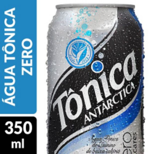 Oferta de Água Tônica Antarctica 350ml Zero por R$2,99