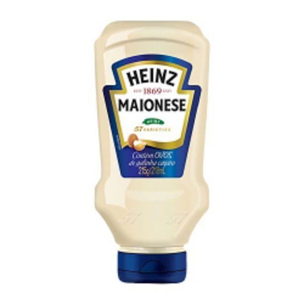 Oferta de Maionese Heinz 215g por R$9,59