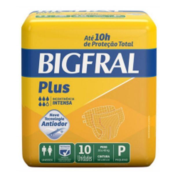 Oferta de Fralda Ger Bigfral Plus Peq 30a40kg 1x10 por R$29,98