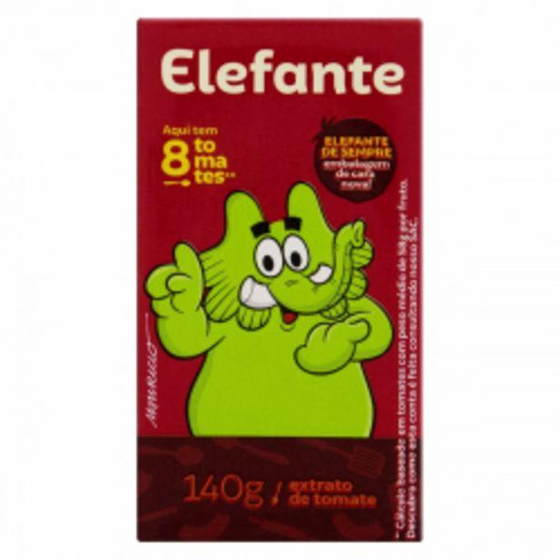 Oferta de Extrato Tomate Elefante 140g por R$2,99