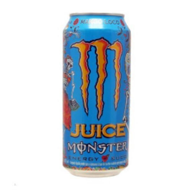 Oferta de Energetico Monster Mango Loco 473ml por R$7,59