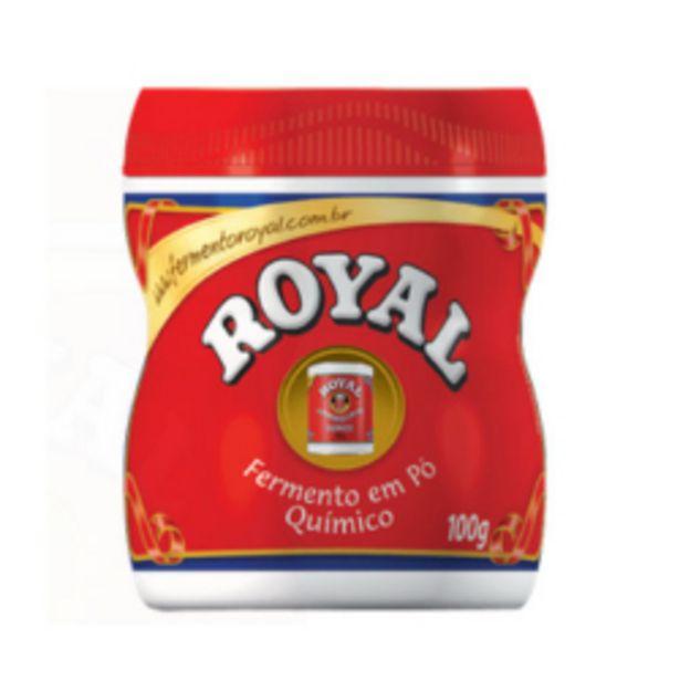 Oferta de Fermento Po Royal 100gr por R$3,89