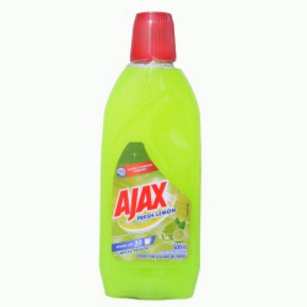 Oferta de Ajax Limpeza Geral Fresh Lemon 500ml por R$8,39